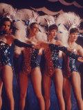 Radio City Music Hall Rockettes, Photographic Print