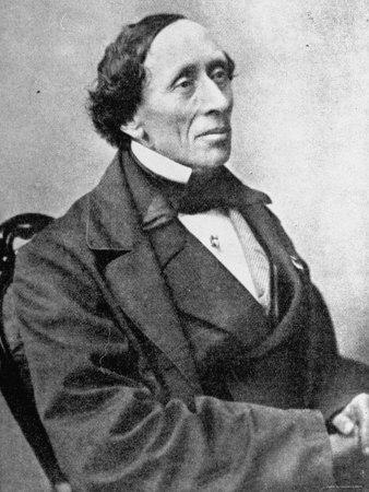 Storyteller Hans Christian Andersen, Photographic Print