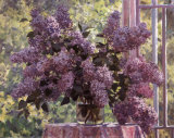 Lilacs by the Window, Art Print