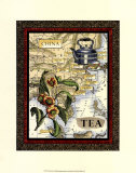 China Tea, Art Print