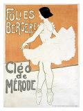 Cleo de Merode, Folies Bergére, Giclee Print