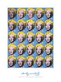 Andy Warhol - Twenty-Five Colored Marilyns, 1962, Art Print