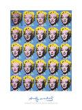 Andy Warhol - Twenty-Five Colored Marilyns, 1962, Art Print