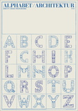 Alphabet Architektur, Art Print