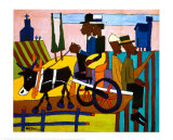William H. Johnson - Going to Church Wall Poster