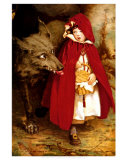 Little Red Riding Hood, Art Print, Jessie Wilcox-Smith