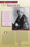 Elizabeth Cady Stanton, Pioneers of Women's Rights Poster Series