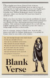 Blank Verse, Poetry Forms poster