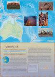 Australia Continent Poster