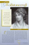 Mary Wollstonecraft, Pioneers of Women's Rights Poster Series