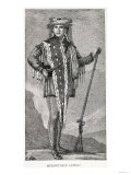 Portrait of Meriwether Lewis (1774-1809) Engraved by Stuckland, the Analectic Magazine, 1815, Giclee Print