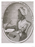 Portrait of Phillis Wheatley (c.1753-84), Giclee Print
