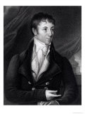Charles Brockden Brown (1771-1810) Engraved by John B. Forrest (1814-70) from a Miniature, 1805, Giclee Print