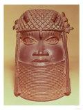 Benin Mask (brass) Giclee Print