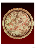 Plate Decorated with a Scene from Homer's Iliad with the Greek and Trojan Princes Menelaos, Giclee Print