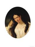 Portrait of 'La Malibran' in the Role of Desdemona, Giclee Print, Francois Bouchot