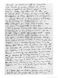 Letter to Richard Wagner, 17th February 1860, from Charles Pierre Baudelaire, Giclee Print