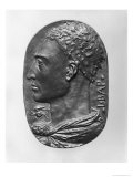 Medallion Self Portrait (bronze), Leon Battista Alberti