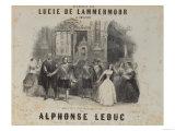 Lucia De Lamermoor' by Gaetano Donizetti (1797-1848), Giclee Print
