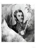 General Jose De San Martin (1778-1850), Giclee Print