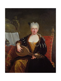 Portrait of Faustina Bordoni, Handel's singer Giclee Print