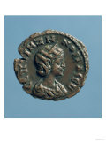 Tetrachm (Obverse) of Zenobia, Queen of Palmyra, Minted at Alexandria circa 274 (Billon), Giclee Print