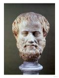 Bust of Aristotle Giclee Print