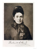Portrait of Isabella Bird Bishop, Traveler and Writer, Giclle Print