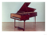 Harpsichord Belonging to Ludwig Van Beethoven (1770-1827), Giclee Print