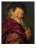 Democritus 1692, Antoine Coypel, Giclee Print