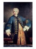 """Portrait of Carlo Farinelli, """"Il Ragazzo,"""" (1705-82), Italian Male Soprano Giclee Print"""