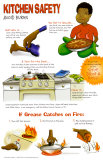 Avoid Burns in the Kitchen Poster
