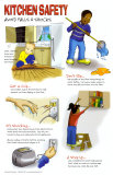 Prevent falls & shocks in the Kitchen Poster