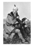 Daniel Boone, American Frontiersman, Giclee Print