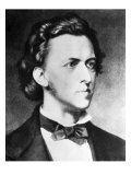 Frederick Chopin, composer, Giclee Print