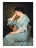 Portrait of Liilie Langtry, Giclee Print
