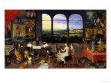 An Allegory of Hearing, Giclee Print, Jan the Elder Brueghel