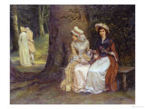 Unrequited Love, a Scene from Much Ado About Nothing, Giclee Print