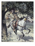 Absalom Hanging on the Oak Tree, Giclee Print