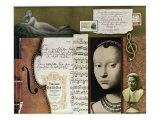 Homage to J S Bach, Giclee Print