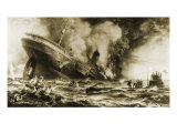 Lusitania: Sunk Without a Trace, Giclee Print