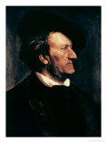 Portrait of Richard Wagner, Giclee Print, Lenback