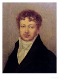 Portrait of Andre Marie Ampere, Giclee Print