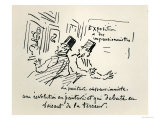 Caricature of the First Impressionist Exhibition in Paris, 'Revolution in Painting!, Giclee Print