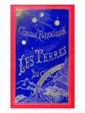 Book Cover for 'Les Terres du Ciel' Written by Camille Flammarion 1877, Giclee Print