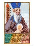 Father Matteo Ricci in Mandarin Costume, Giclee Print