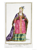 Hedwige, Marquise D'Arquien (1373-99) Queen of Poland, Giclee Print