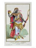Queen Nzinga, Giclee Printt