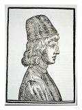Portrait of Pico Della Mirandola (1463-94), from 'Delle Celeste Fisionomia' Giclee Print
