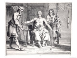 Blood Transfusion from a Lamb, from 'Armamentarii Chirurgici' Giclee Print